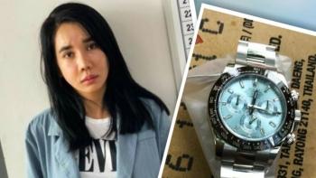 Cô gái đánh tráo đồng hồ Rolex tiền tỷ của