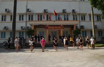 Phát hiện ma tuý và 41 người  tổ chức hát tại karaoke Hương Lan