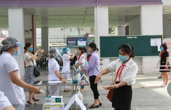 Hà Nội, các thí sinh thi vào 10 khai báo y tế và học tập quy chế thi trực tuyến ra sao?