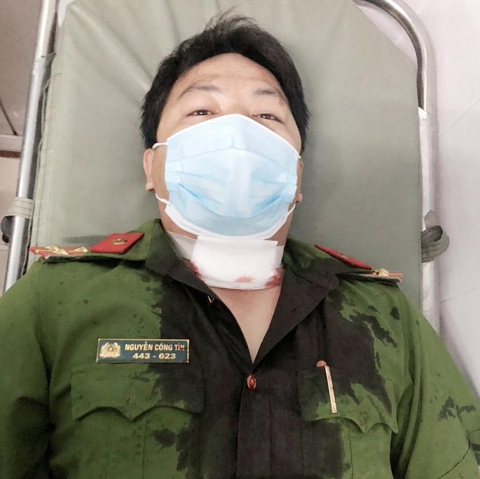 Đại úy Nguyễn Công Tín cảnh sát khu vực 5, Phường Tân An