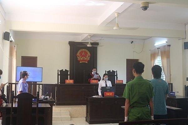 Quang cảnh tại phiên Tòa xét xử