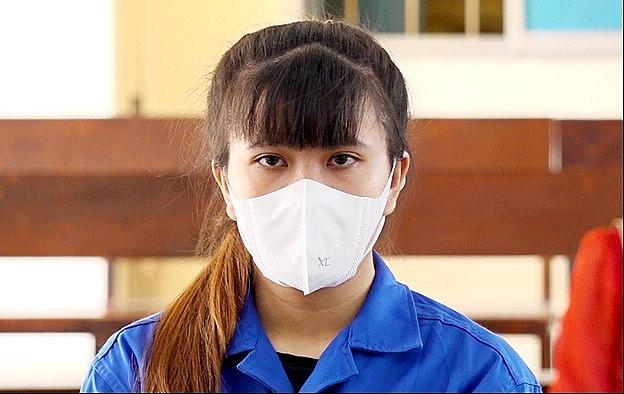 Bị cáo Cao Thị Anh Thư